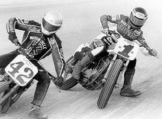 Steve Moorehead #42 and Ricky Graham #1