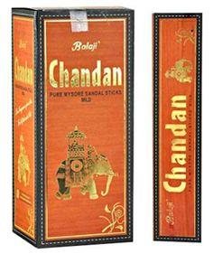 Balaji #Chandan Pure Mysore Sandal Mild #Incense #Sticks (Pack of 12)
