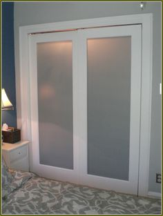 Frosted Glass Sliding Closet Doors Lowes