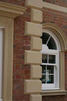 Home Architectural Quoins Chamfered
