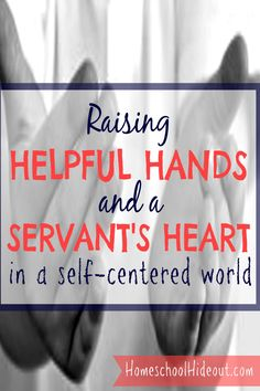 Learning to serve others in a self-centered world