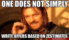 Oh those pesky Zestimates!   Epic Real Estate Humor http://EpicRealEstate.com