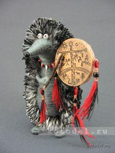 ёжик шаман