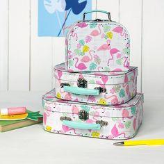 Koffertje Flamingo