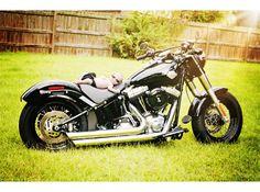 2013 Harley-Davidson Softail SLIM.  Baby Photo Session