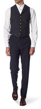 VIVIENNE WESTWOOD Contrast-back waistcoat