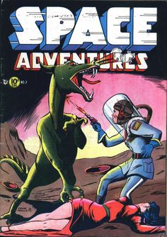 Comic Book Cover For Space Adventures #2