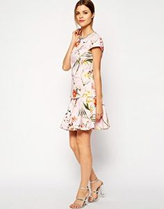 Ted Baker Botanical Bloom Top & Skirt