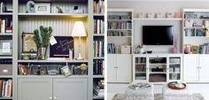 Muebles de almacenaje para el salón - http://www.decoora.com/muebles-de-almacenaje-para-el-salon/