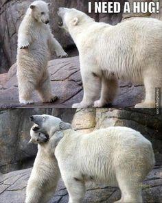 .Y ese abrazo?