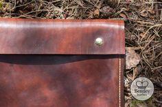 Luxury leather document folder www.bentleyleathercraft.com