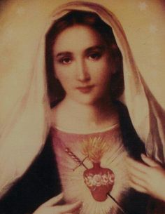 Sorrowful an Immaculate Heart of Mary also