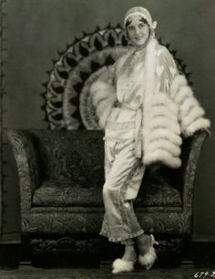 Ruth Taylor in her Pajamas, circa 1928, by Eugene Robert Richee.