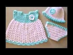 Free Baby Dress Crochet Patterns - YouTube