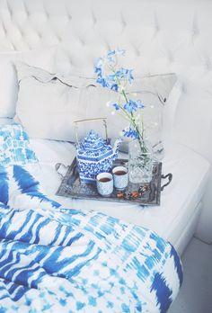 Tea moment in the bed - lainahöyhenissä | Lily.fi