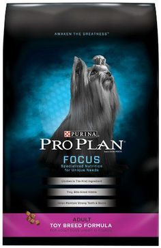 Purina Pro Plan Dry Dog Food, Focus, Adult Toy Breed Formula, 5-Pound Bag, Pack of 1 >>> Find out more details by clicking the image : Dog Food