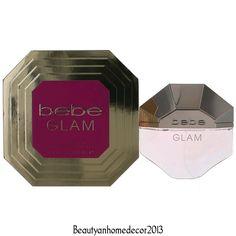 Bebe Glam Perfume by Bebe 3.4 oz EDP Spray for Women NEW IN BOX #bebe
