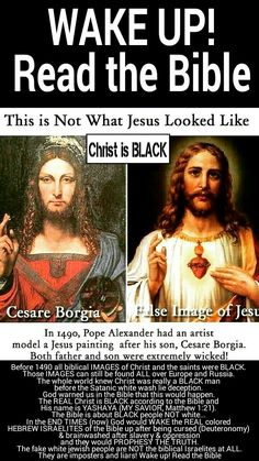 The FALSE Image Of Jesus Christ Before 1490 All Biblical IMAGES And