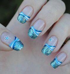 Nail Art / Nail Designs - 40 Best Bridal Nail Art Designs - Part 1 | Lets Create Crafts