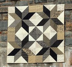 Star Quilt Blocks, Star Quilt Patterns, Star Quilts, Easy Quilts, Mini Quilts, Quilting For Beginners, Quilting Tutorials, Quilting Projects, Quilting Designs