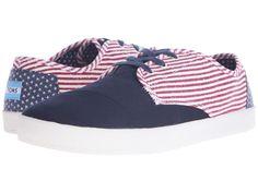 TOMS Canvas Avalon   Americana/Flag