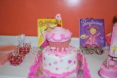Lilly's Pinkalicious Birthday Cake