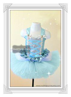 Hey, I found this really awesome Etsy listing at https://www.etsy.com/listing/176157728/cinderella-winter-wonderland-tutu-dress