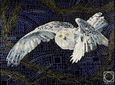 Vasily Kolesnik - Mosaic Owl