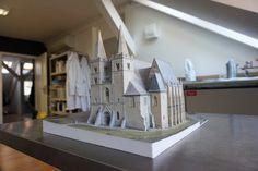 Spiš Chapter House, Slovakia, 3D printed model