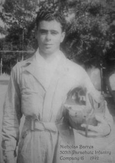 Corporal Nick Barres - G company - 505th PIR