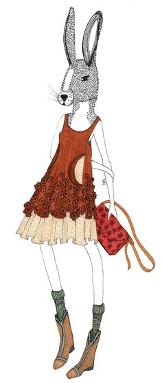 caroline rose kaufman- fashion illustration
