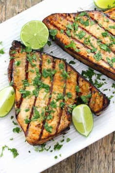 CIlantro-Lime Grilled Swordfish   The Stay At Home Chef