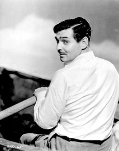 Clark Gable ~ They Met in Bombay, 1941