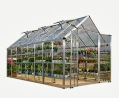 This greenhouse may very well end up in my yard next year.
