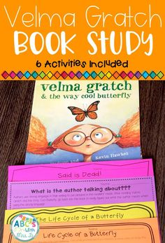 Velma Gratch and the Way Cool Butterfly is a great text to integrate the life cycle of a butterfly into your literacy and reading block. Use this resource to read and write about the life cycle of a butterfly while learning the science concept!