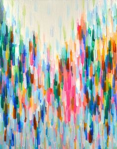 colors colorful abstract painting art unknown artist drips