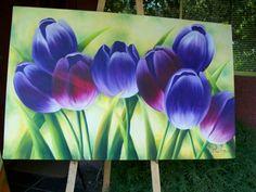 Tulipanes. Quiero este cuadroooo!!