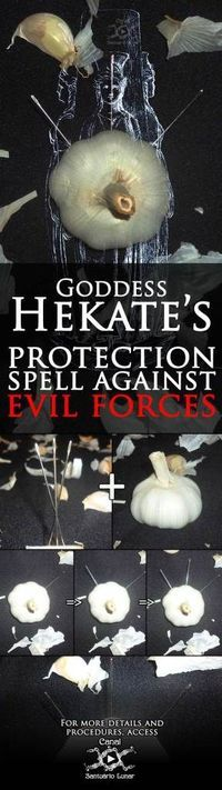 Learn in this post how to cast a powerful protection spell against evil forces by working with Goddess Hekate's powers + a bonus spell to silence gossip! Witch Spell, Pagan Witch, Wiccan Spells, Magic Spells, Curse Spells, Moon Spells, Hecate Goddess, Which Witch, Protection Spells