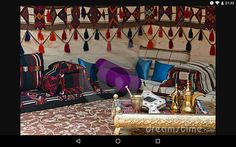 Bedouin Tent by via Dreamstime Minimalist Furniture, Minimalist Home Decor, Minimalist Interior, Minimalist Living, Minimalist Curtains, Bedouin Tent, Tent Living, Abstract Canvas Wall Art, Empire