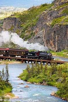 Yukon White Pass Railroad, Matty would love this!