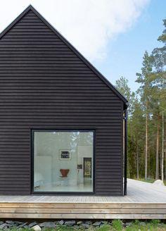 Villa Wallin by Swedish studio Erik Andersson Architects on an island in the Stockholm archipelago.