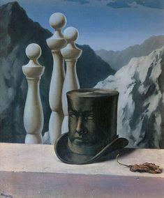 Renè Magritte  The Handsome Brooder, 1950