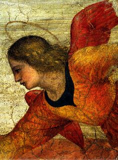 Bernardino Luini (c1480-1532) - Fresco detail: Angel