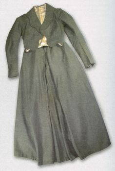   Gaberdine suit purchased by Daisy Bates in about 1904 and worn by her until her death in 1951, South Australian Museum Archives  