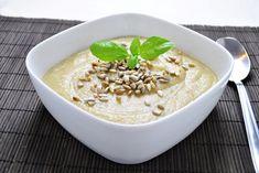 Wegańska zupa krem z białych warzyw