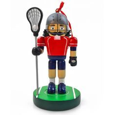 c8fd9378 Lacrosse Nutcracker Resin Ornament Lacrosse Quotes, Lacrosse Gear,  Nutcracker Ornaments, Nutcracker Christmas,
