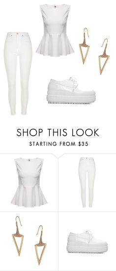"""""""futuristic"""" by minaalichughh on Polyvore featuring River Island and ABS by Allen Schwartz"""