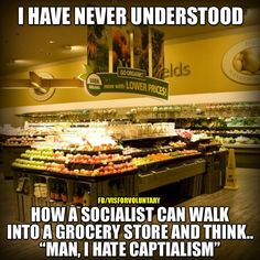 But here's a tip....the elites think this grocery store should just be for them.  They won't be suffering - WE will.