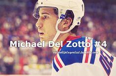 Michael Del Zotto #4