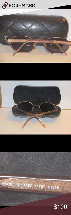 Vintage Chanel women sunglasses Gently used and in good condition, no scratches CHANEL Accessories Glasses